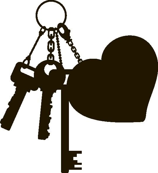 Наклейка «Ключи от сердца»Любовь<br><br>