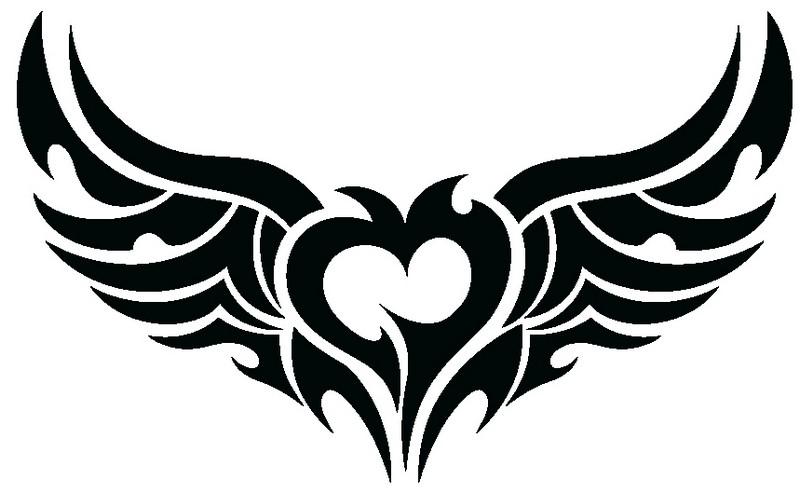 Наклейка «Сердце рокера»Любовь<br><br>