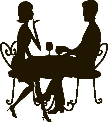 Наклейка «Романтический ужин»Любовь<br><br>