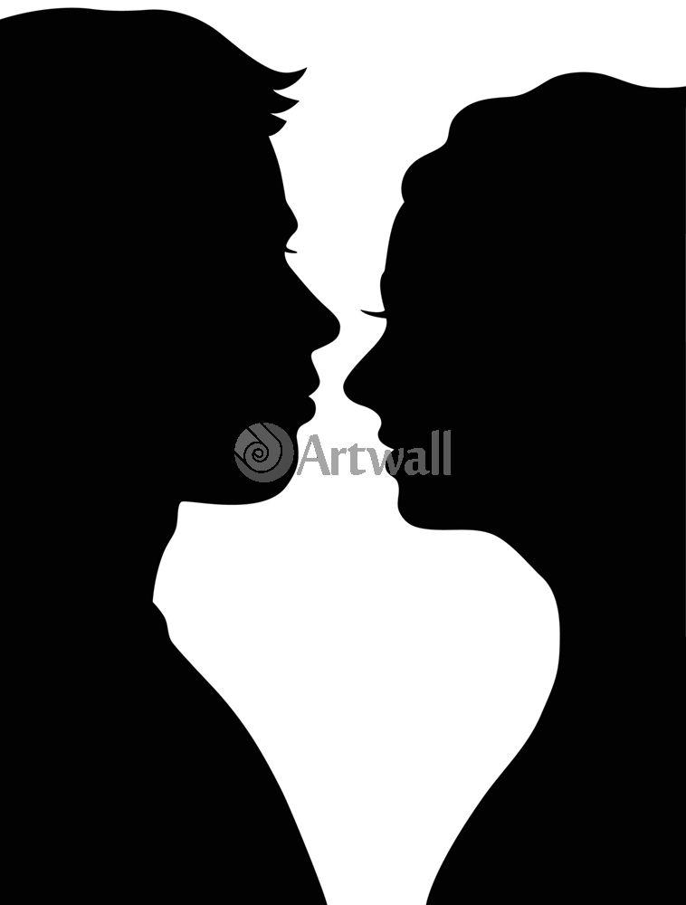 Наклейка «Влюблённые»Любовь<br><br>