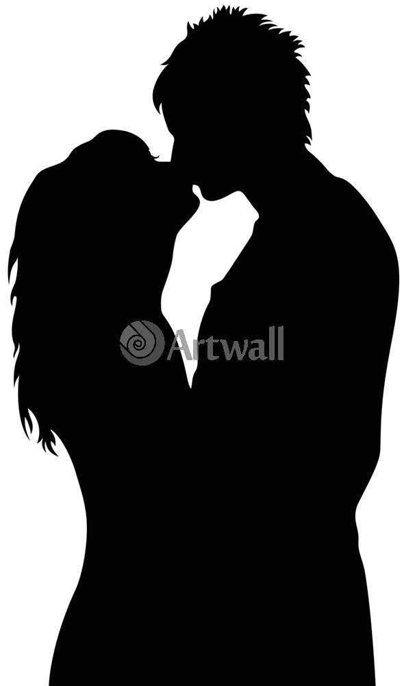 Наклейка «Поцелуй»Любовь<br><br>