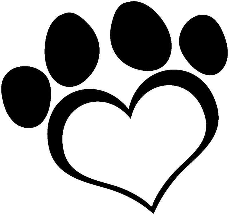 Наклейка «Лапа-сердечко»Любовь<br><br>