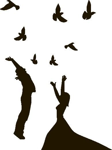 Наклейка «Птицы счастья»Любовь<br><br>