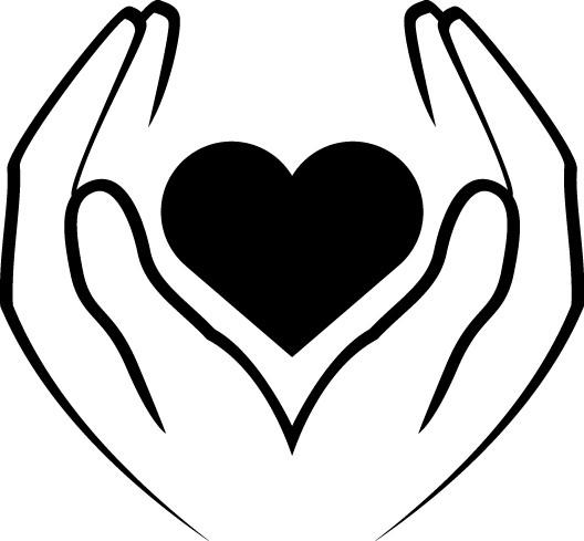 Наклейка «Сердце в ладонях»Любовь<br><br>