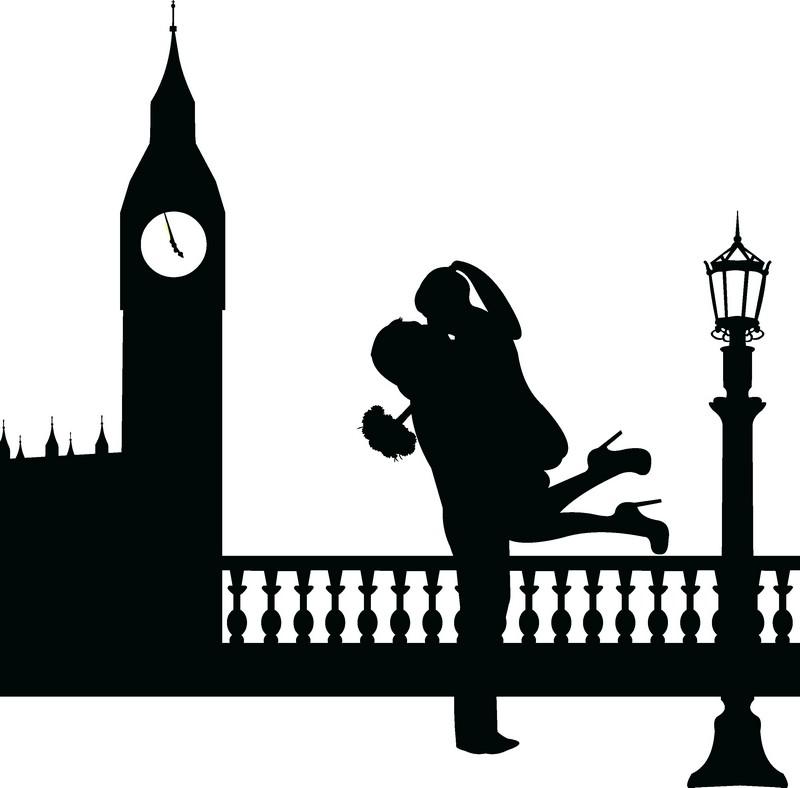 Наклейка «Любовь в Лондоне»Любовь<br><br>