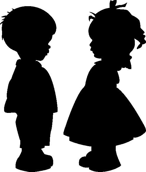 Наклейка «Влюблённые малыши»Любовь<br><br>