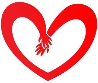 Наклейка «Руки влюблённых»Любовь<br><br>