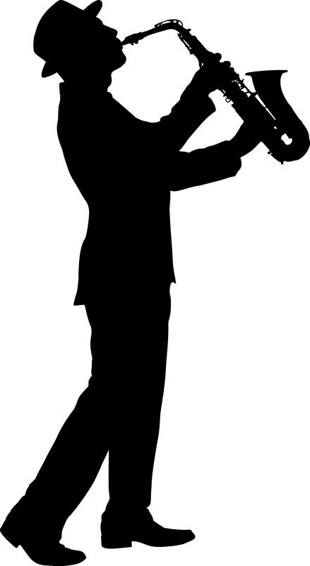 Наклейка «Саксофонист»Люди<br><br>