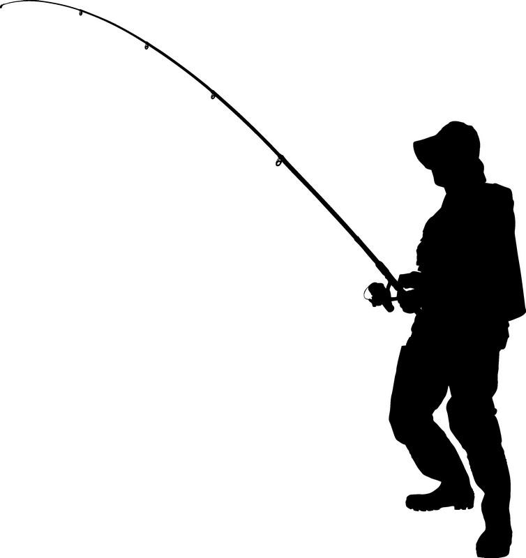 Наклейка «Рыбак»Люди<br><br>
