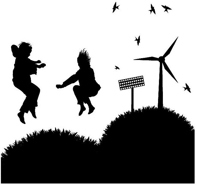Наклейка «Прыгающие дети»Люди<br><br>