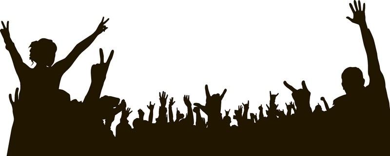 Наклейка «Рок-концерт»Люди<br><br>