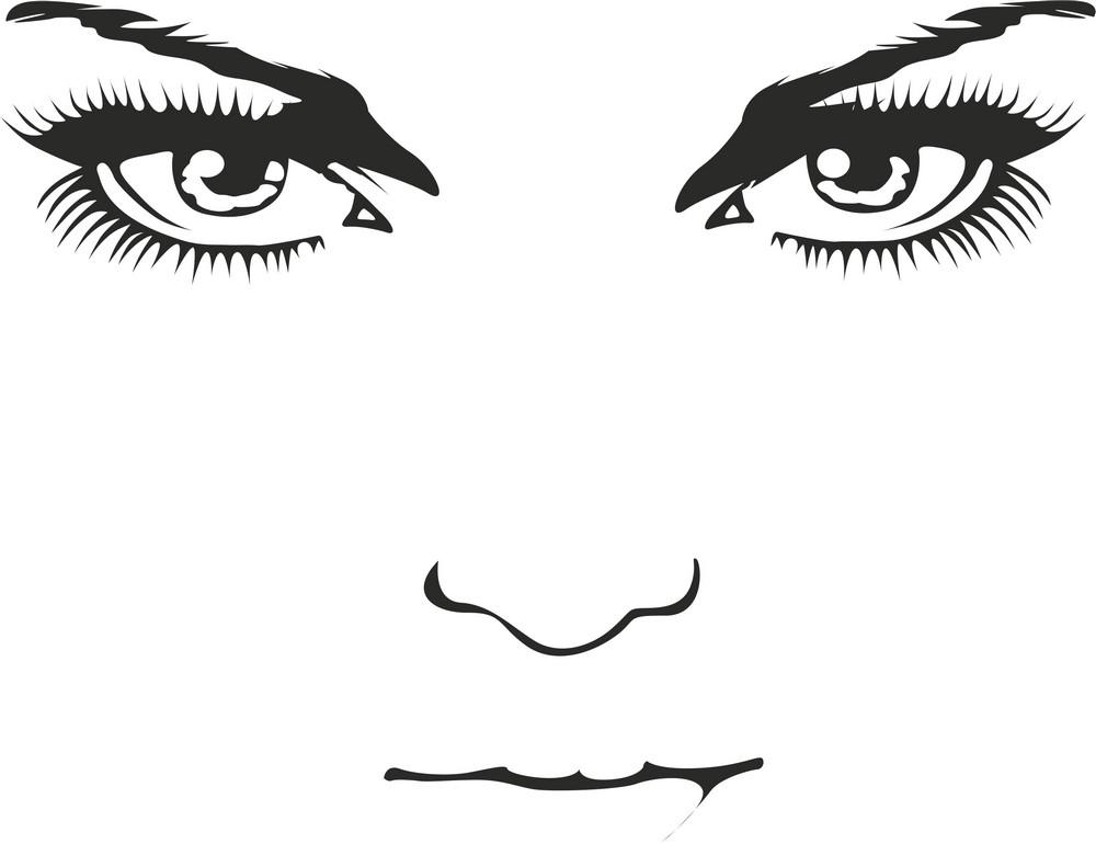 Наклейка «Лицо»Люди<br><br>