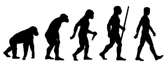 Наклейка «Эволюция»Люди<br><br>