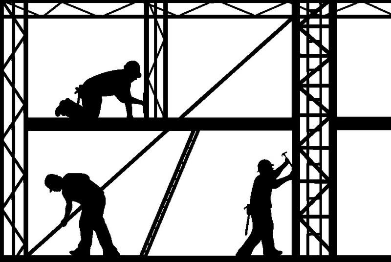 Наклейка «Строители»Люди<br><br>