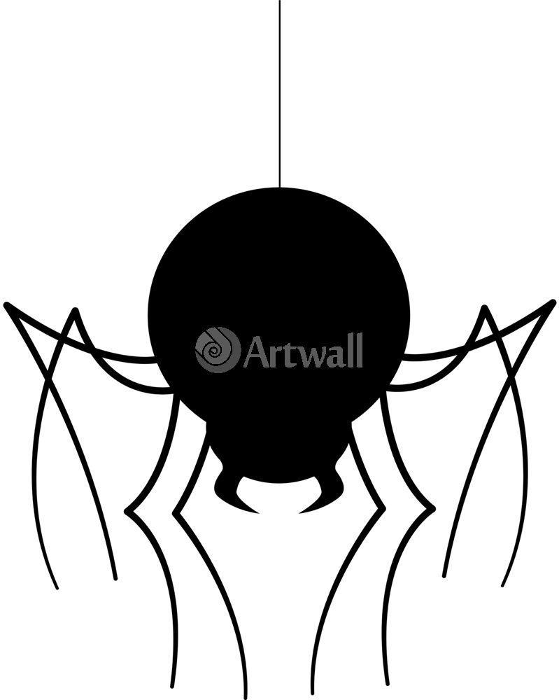 Наклейка «Жирный паук»Насекомые<br><br>