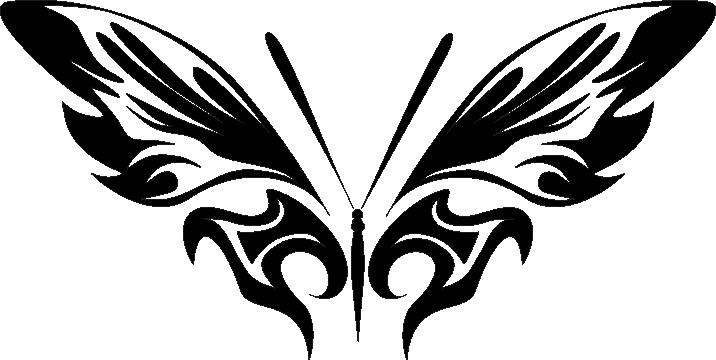 Наклейка «Бабочка расправила крылья»Насекомые<br><br>