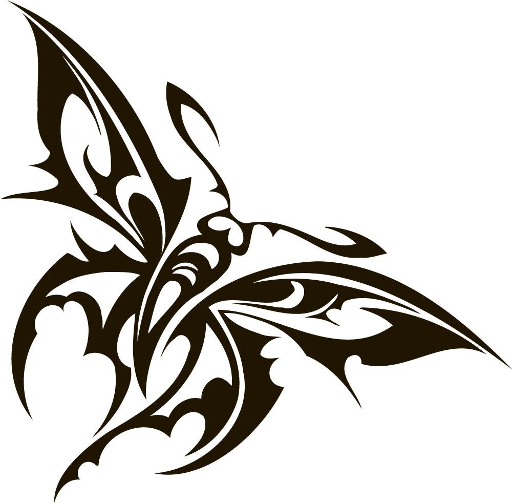 Наклейка «Демоническая бабочка»Насекомые<br><br>