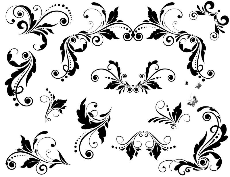Наклейка «Набор орнаментов»Орнаменты<br><br>