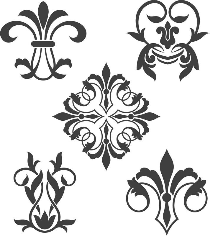 Наклейка «Пять орнаментов»Орнаменты<br><br>