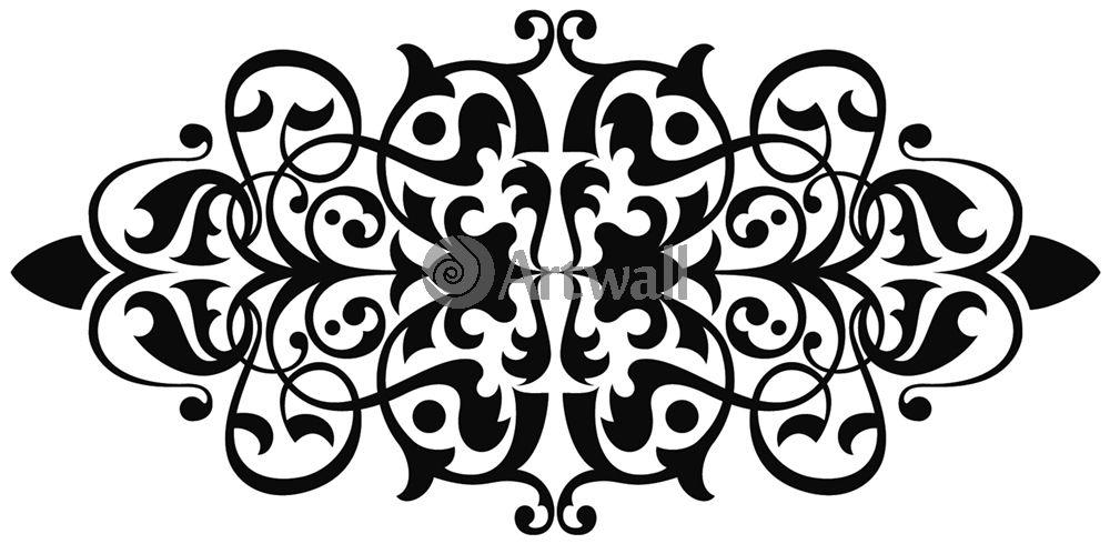 Наклейка «Горизонтальный орнамент»Орнаменты<br><br>