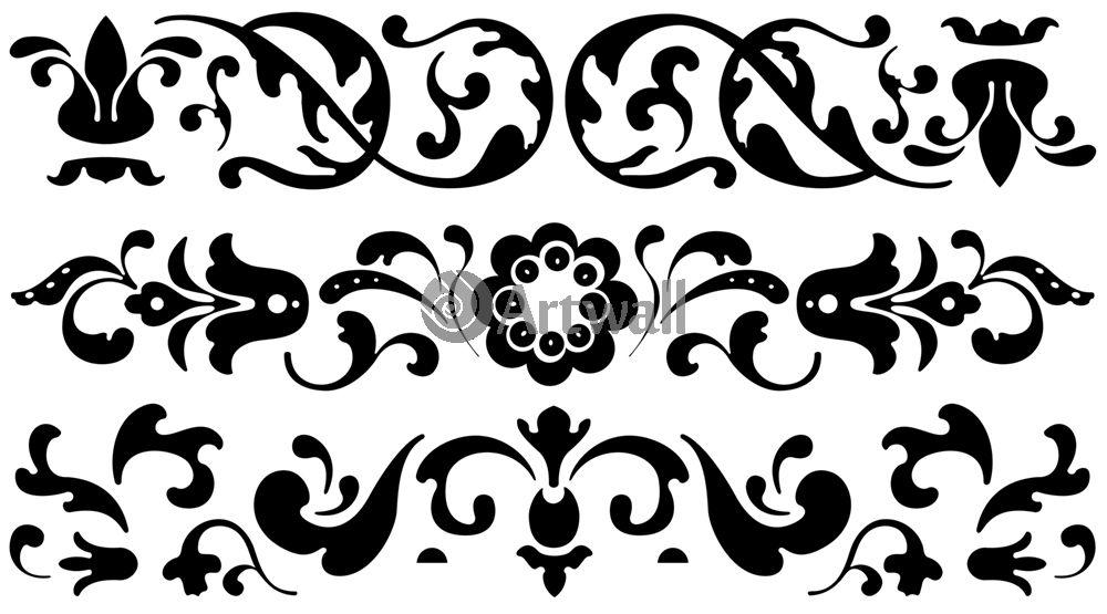 Наклейка «Три орнамента»Орнаменты<br><br>