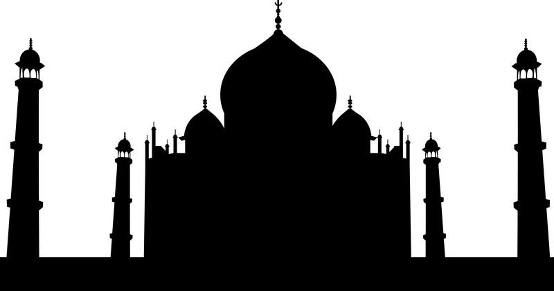 Наклейка «Тадж-Махал»Путешествия<br><br>