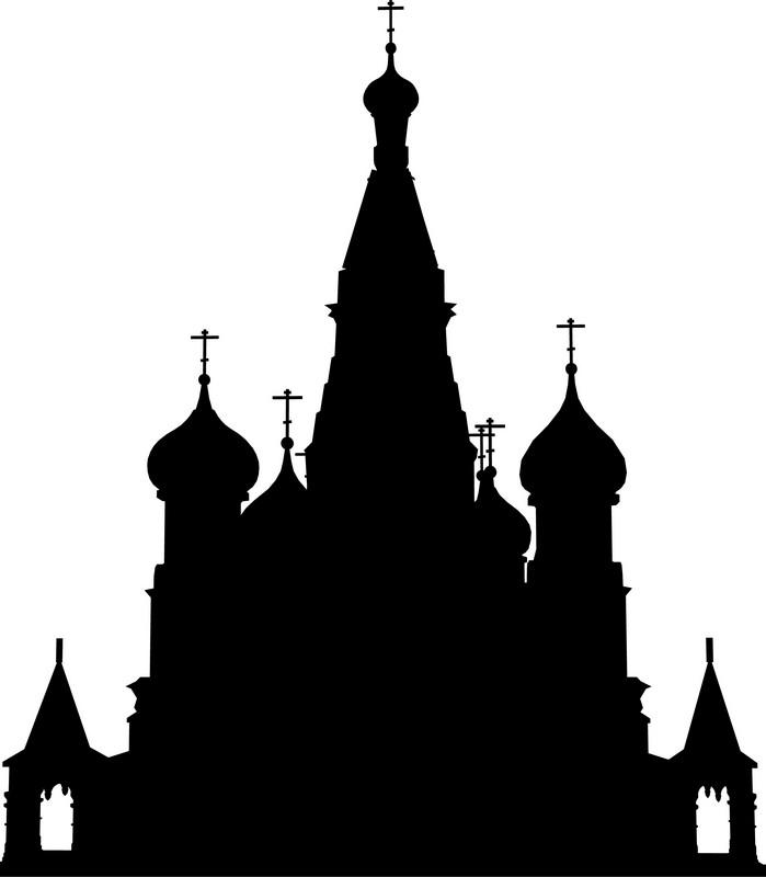 Наклейка «Собор»Путешествия<br><br>