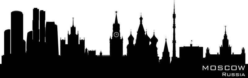 Наклейка «Москва»Путешествия<br><br>