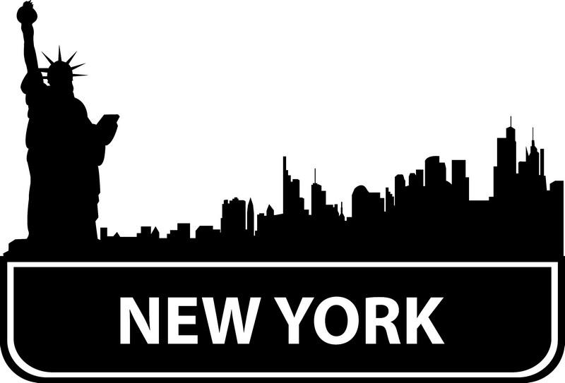 Наклейка «Нью-Йорк»Путешествия<br><br>
