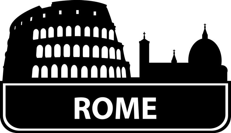 Наклейка «Rome»Путешествия<br><br>