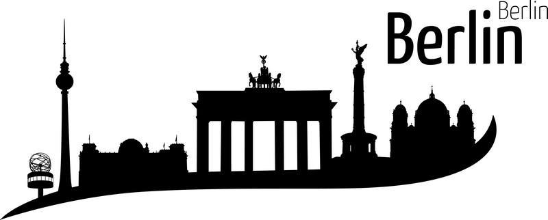 Наклейка «Berlin»