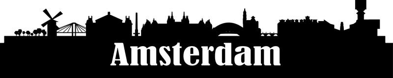 Наклейка «Амстердам»Путешествия<br><br>