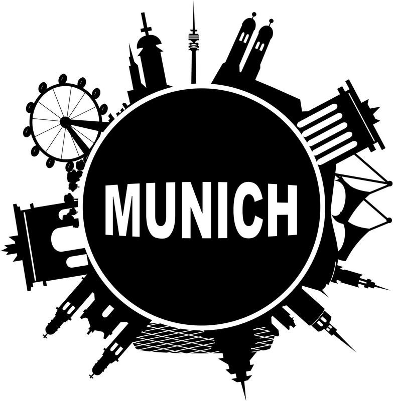 Наклейка «Мюнхен»Путешествия<br><br>