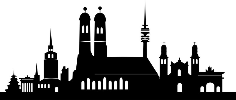 Наклейка «Тёмный город»Путешествия<br><br>