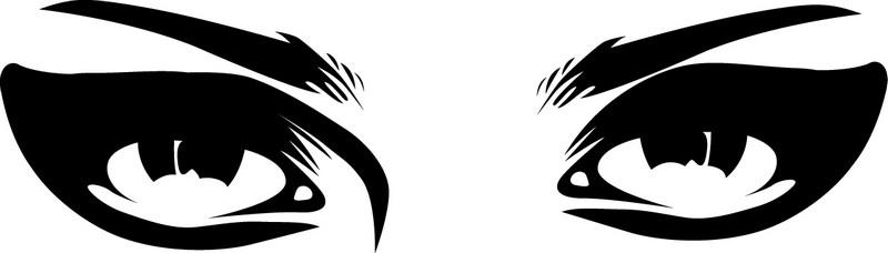 Наклейка «Томный взгляд»Разное<br><br>