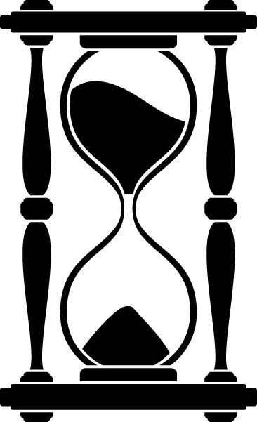 Наклейка «Песочные часы»Разное<br><br>