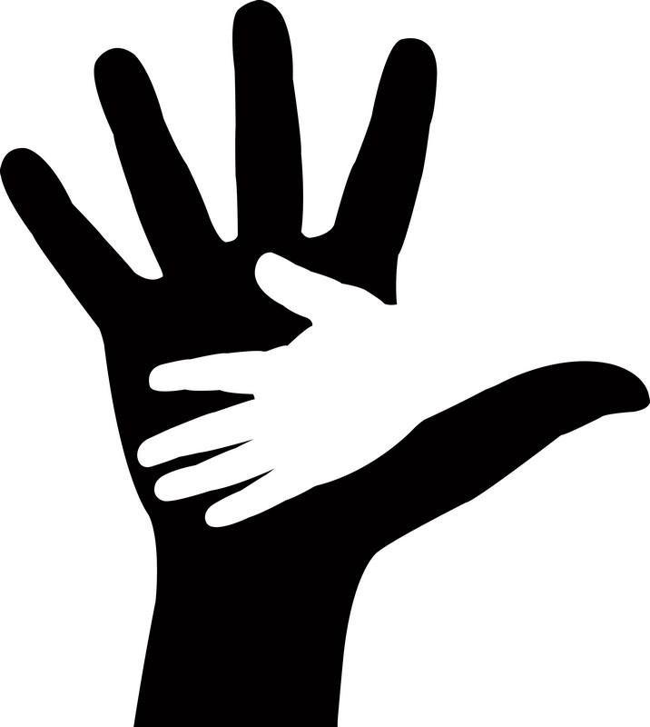 Наклейка «Рука в руке»Разное<br><br>
