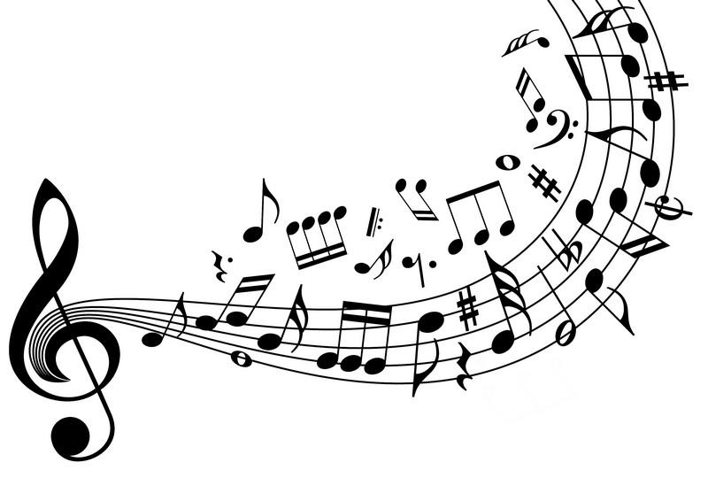 Наклейка «Скрипичный ключи и Ноты»Разное<br><br>