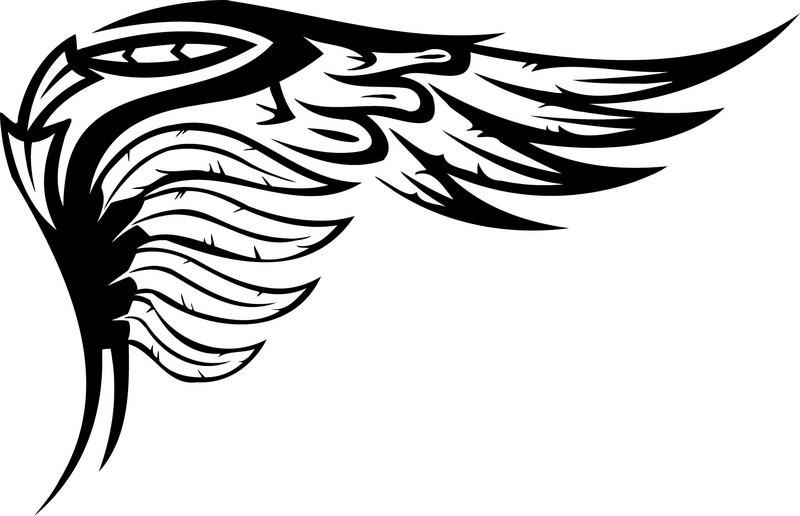 Наклейка «Крыло»Разное<br><br>