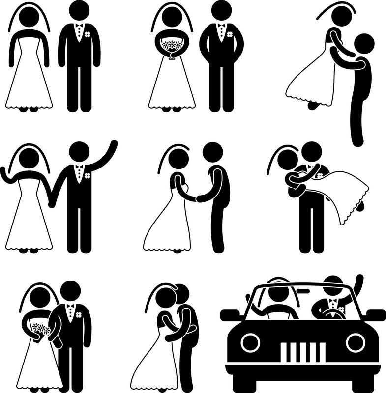 Наклейка «Свадебные кадры»Сюжеты<br><br>