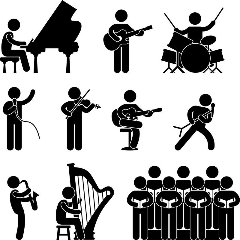 Наклейка «Оркестр»Сюжеты<br><br>