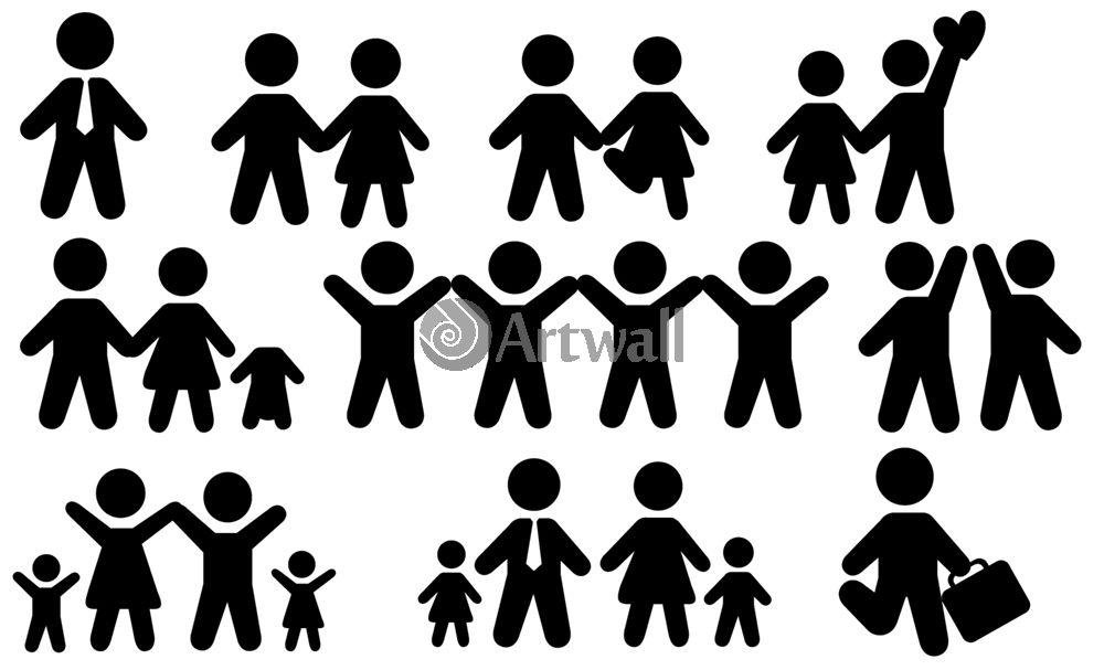 Наклейка «Семейные сюжеты»Сюжеты<br><br>