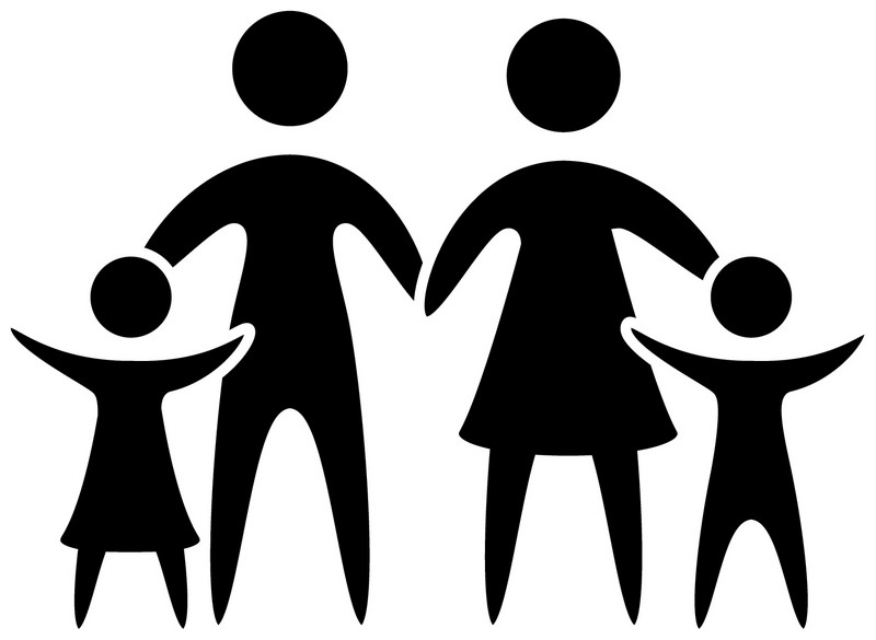 Наклейка «Счастливая семья»Сюжеты<br><br>