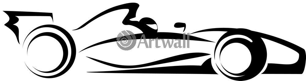 Наклейка «Формула-1»Транспорт<br><br>