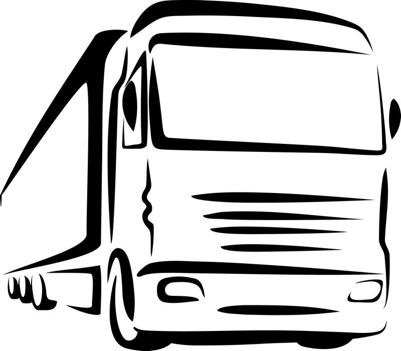 Наклейка «Эскиз грузовика»Транспорт<br><br>