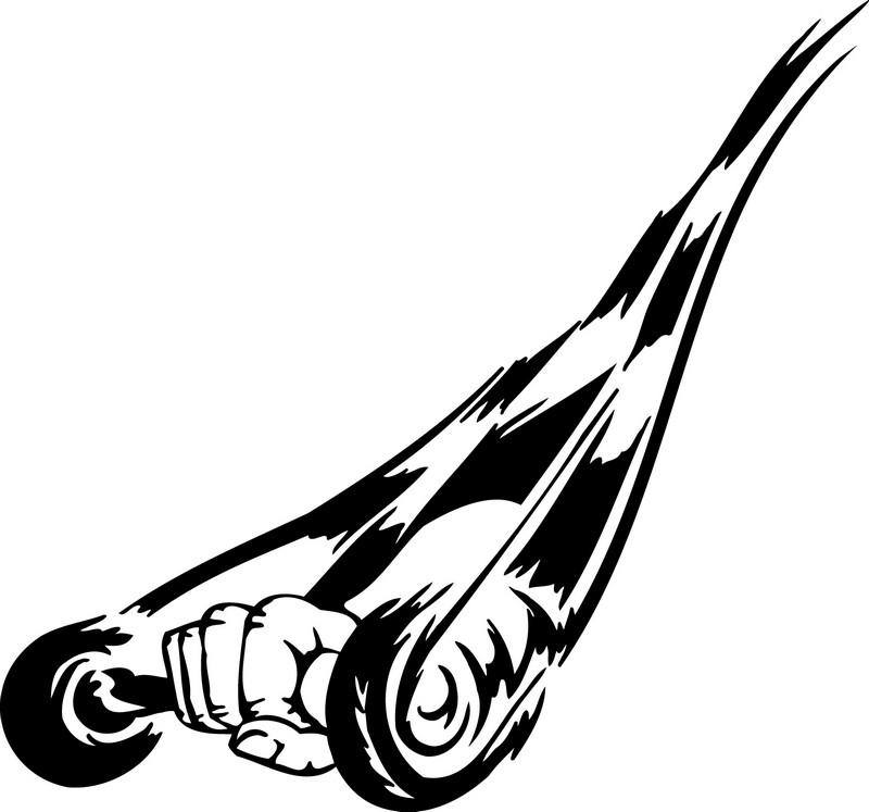 Наклейка «Рука с гантелей»Транспорт<br><br>