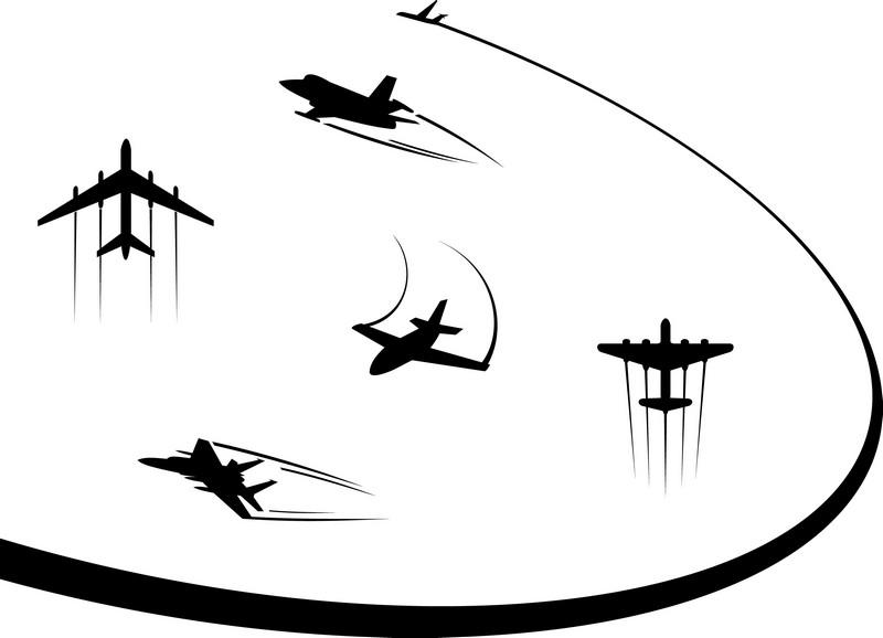 Наклейка «Шоу самолётов»Транспорт<br><br>