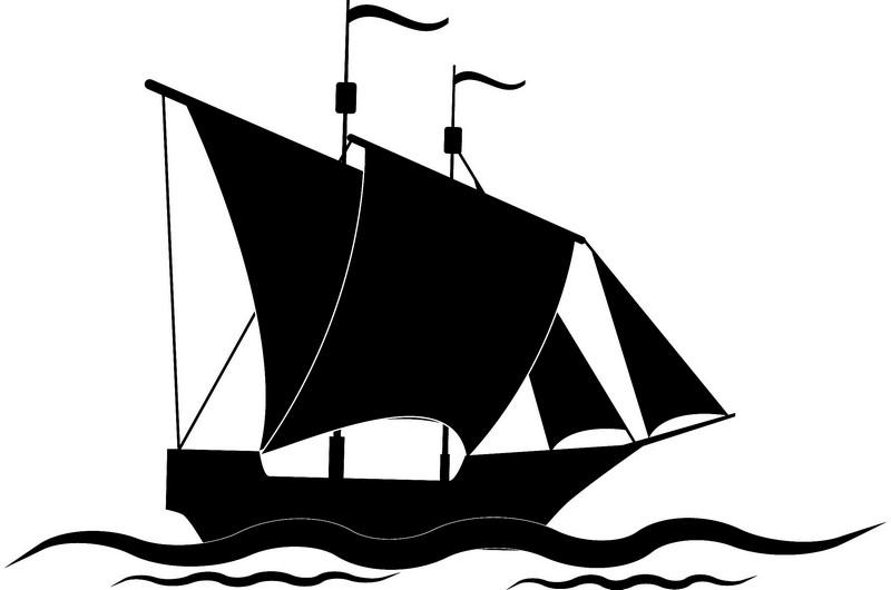 Наклейка «Корабль»Транспорт<br><br>
