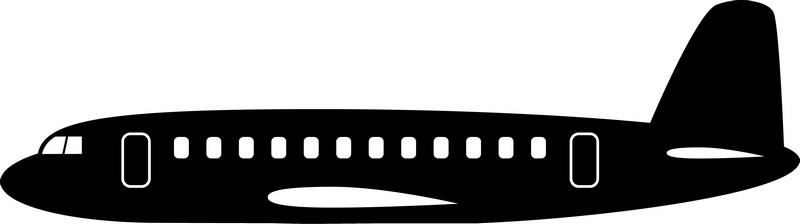 Наклейка «Самолёт»Транспорт<br><br>