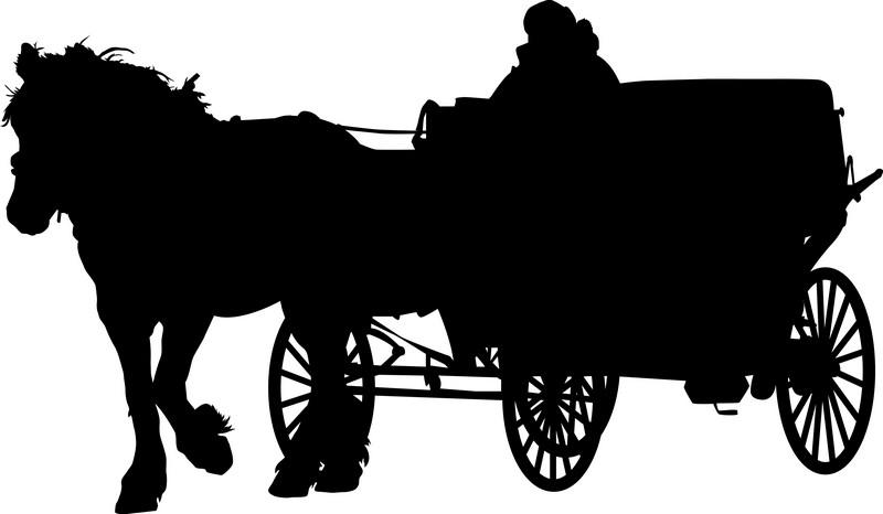 Наклейка «Карета»Транспорт<br><br>